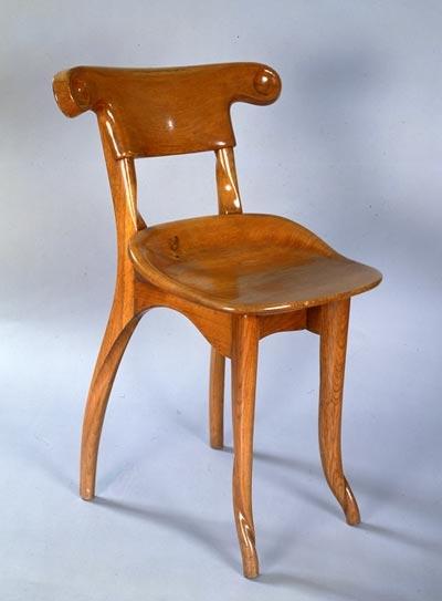 Gaudi designer casa batllo cabinet work chair from the dining room - Technique de la chaise ...