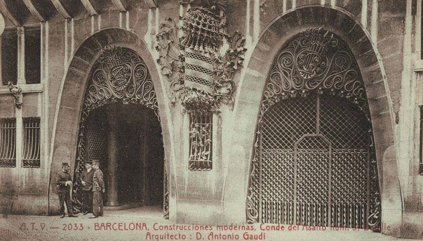 Palacio Güell / Wrought Iron /
