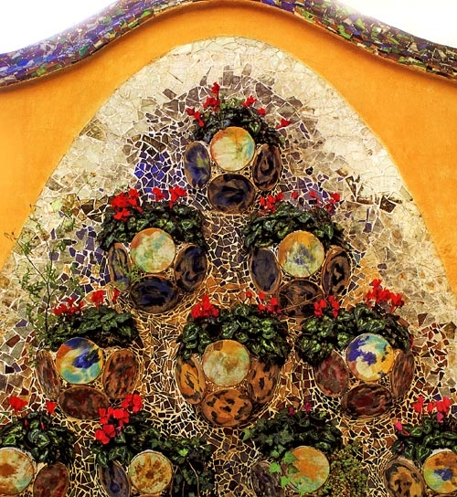 Gaudi Designer Casa Batllo Gt Ceramics Garden Ceramic